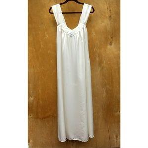Vintage Miss Dior white nightgown medium